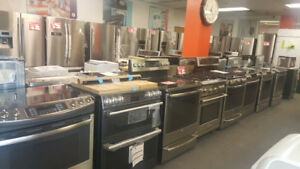 CLEAROUT SALE on Home Appliances, New and Scratch & Dent