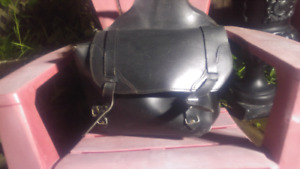 leather saddle bags for motorcycle