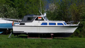 32ft cabin cruiser in good condition
