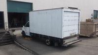 99 gmc cutaway cube van 14 foot box doully