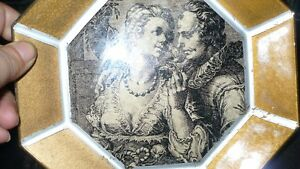 """VINTAGE 2 GORGEOUS VICTORIAN """"ATTRIBUT"""" WALL PLAQUES Kitchener / Waterloo Kitchener Area image 3"""