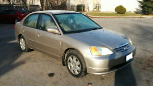 2002 Honda Civic LX Sedan - As Is