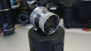 Canon 50mm F 1,9 Serenar in Leica M mount collapsible