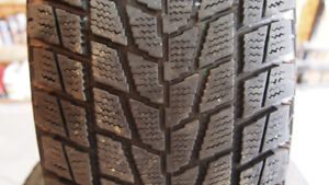 245 / 75 R16 Toyo G-02 Plus Open Country winter tires on rims