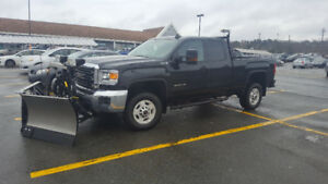 2016 GMC Sierra 2500 HD 4X4 w/ Fisher Plow & Salter only 36200KM