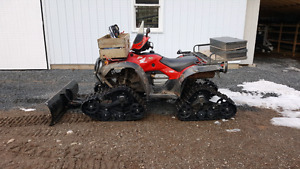 2006 honda foreman 500 with kimpex commander tracks