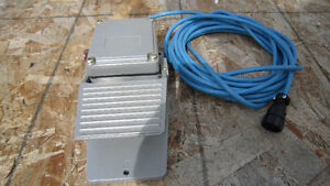 Foot Pedal For Tweco, Thermal Arc Or Firepower Welder Brand New