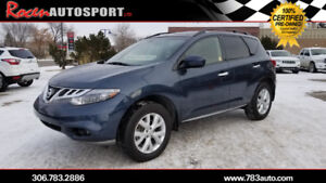 CERTIFIED 2014 NISSAN MURANO SL AWD -  ONLY 76K - YORKTON