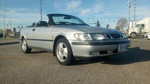 1999 Saab 9-3 Convertible LAST WEEK IN CANADA