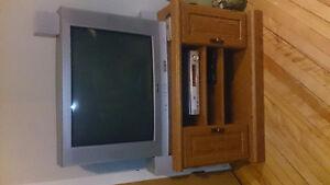 Petit meuble tele (tv) en bois