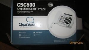 Clear Sounds Amplified Spirit Phone - REDUCED