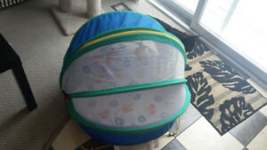 Screened in Outdoor Portable Baby Bed
