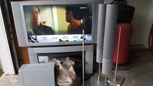 """Panasonic lcd projection tv 42"""" and HT system"""