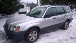 2004 Subaru Forrester X / XT and a ton of extras