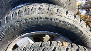 Winter tires for 05 dodge caravan will fit some Hyundai
