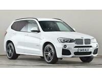 2015 BMW X3 xDrive30d M Sport 5dr Step Auto FourByFour diesel Automatic