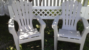 Lawn chairs 2 for $5.00