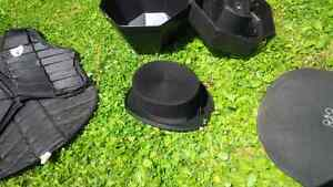 Christy's London 100% Wool Dressage Top Hat with case