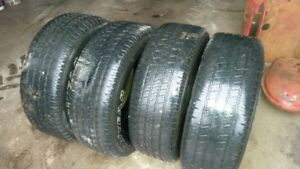 4 good year 275-60-20 tires in good shape.
