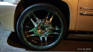 26 inch Rims and Tires