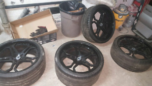 Asanti mags with michelin tires