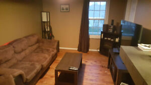 Upstairs apartment of duplex!, available immediately.