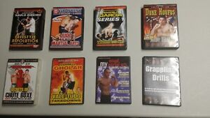 MMA, Grappling, & Kick Boxing Instructional DVDs