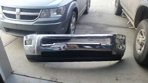 Used Front Bumper With Fog Lamps For Ram 2500 Strathcona County Edmonton Area image 1