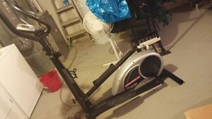 Barely used Fitness Club elliptical trainer