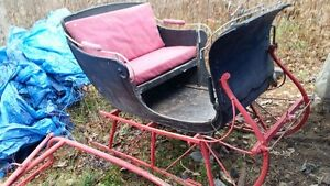 1915 Wm. Gray & Sons 2 seater sleigh for sale