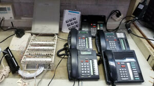 Meridian Norstar 3x8 Business Telephone System