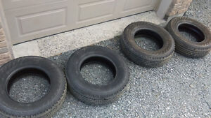 Truck Tires barely used