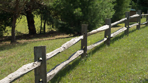 Wanted Split Rail Fencing