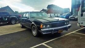 1980 Chevrolet Caprice LHD LPG RARE MODEL NEEDS TLC 4dr Dutch Reg