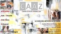 Ateliers d'Arts GRATUIT Au CAAZ