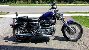 SPORTSTER WITH RAKED WIDE GLIDE FRONT END