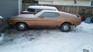 1972 Mustang Mach1 Project Car