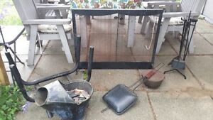 Fireplace Accessories - LOT