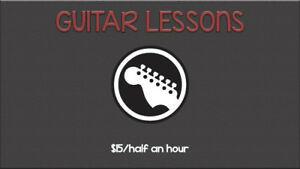 Guitar Lessons For Beginners!