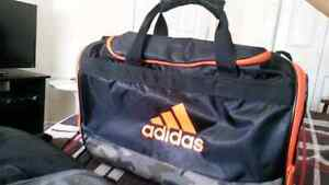 Black & Orange Camo Adidas Bag