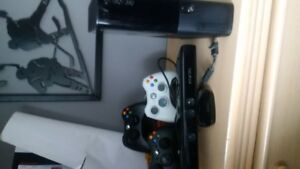 Xbox 360 with Kinect and bunch of games
