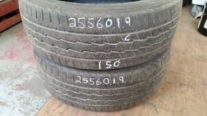 Pair of 2 General Grabber HTS 255/60R19 tires (60% tread life)