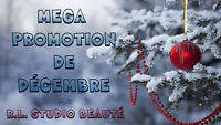 MEGA PROMOTION: Extensions de cils, pose d'ongles, maquillage &+