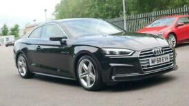 image for 2018 Audi A5 2.0 TFSI S Line 2dr S Tronic Auto Coupe petrol Automatic
