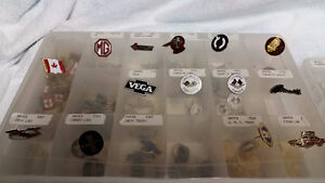 Large collection of automotive pins - Resale Opporturnity