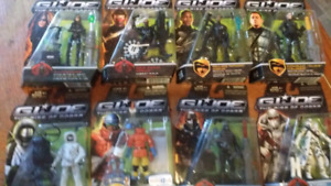 Gi rise of cobra figures and other 10$each