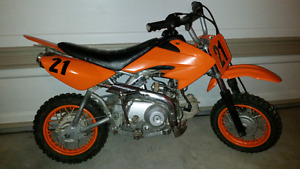 2010 Baja 49cc Dirt Bike