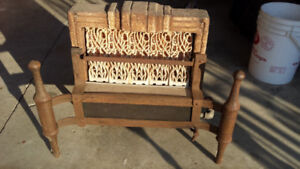 Vintage Natural Gas Fireplace Insert