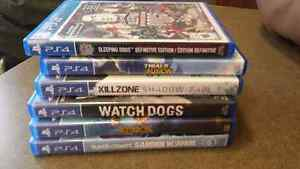 Ps4 video game bundle 60$