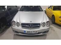 2002 Mercedes-Benz CL600 5.5 biturbo F1 BARGAIN Silver Coupe